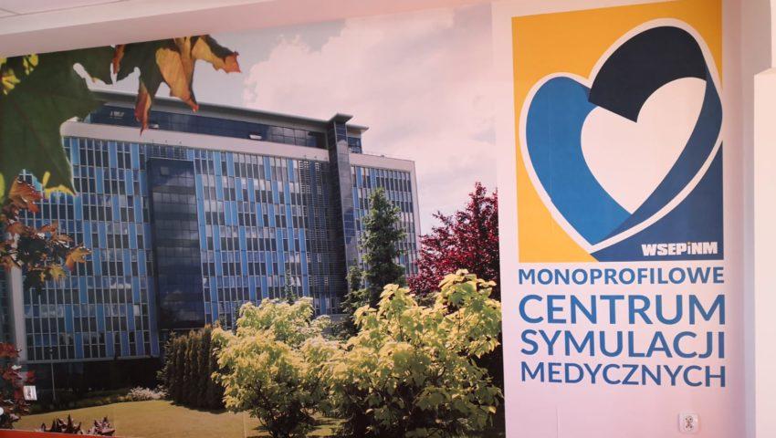 MCSM – Kształcenie praktyczne na kierunku pielęgniarstwo w Monoprofilowym Centrum Symulacji Medycznych WSEPiNM w Kielcach